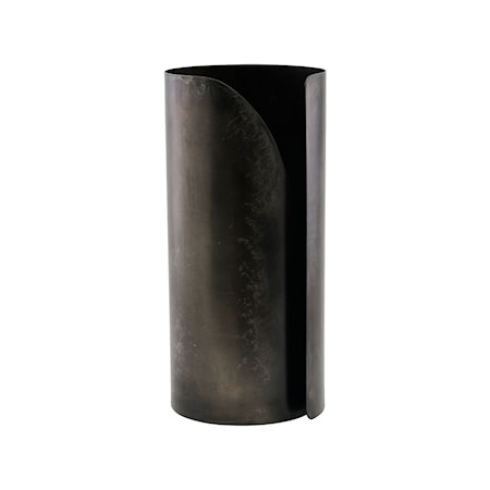 Hushållspappershållare Wipe Svart antik 27 cm