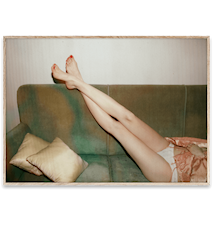 Resting Feet Poster 50x70