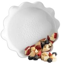 Piccadilly piirakkavuoka, valkoinen