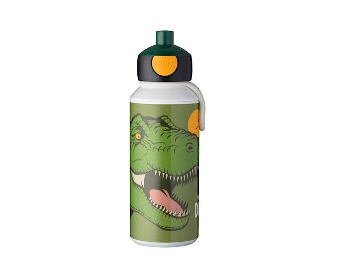Dricksflaska Pop-up Dino 400ml