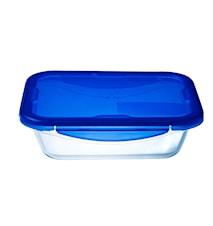 Lounaslaatikko 20x15 cm / 0,8 litraa