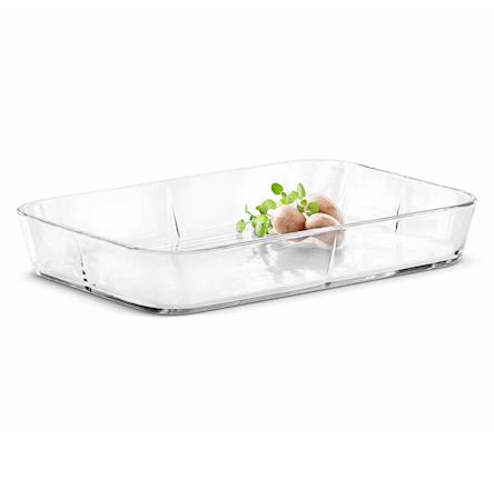 Grand Cru Ugnsfast form Glas Klar 37,7x24,5 cm