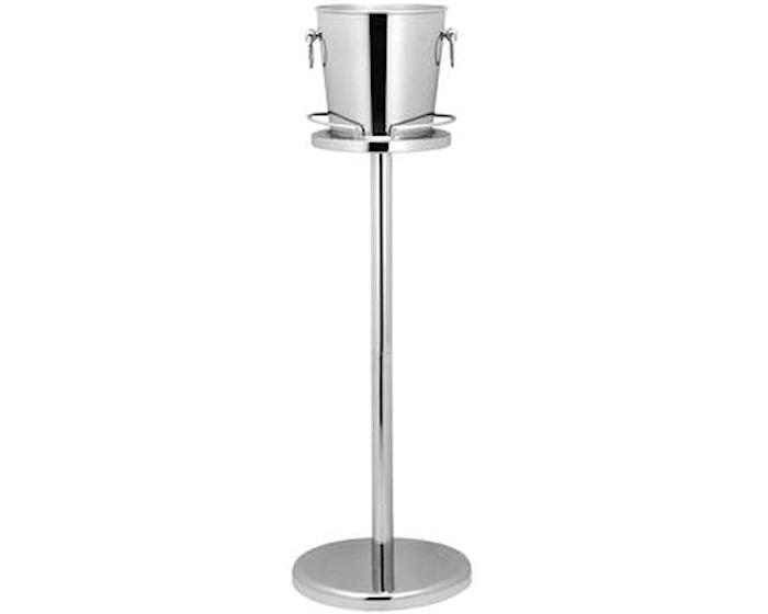 Ställning till champagnekylare stål - 68 cm