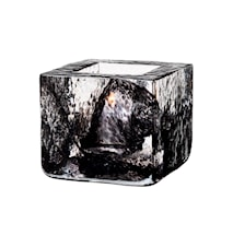 Brick Kynttilälyhty musta Ø 8,5 cm