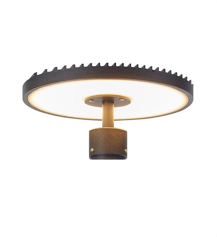 Plate Lampehoved til 107122 Sort