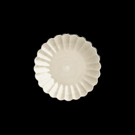 Oyster Tallrik Sand 20 cm