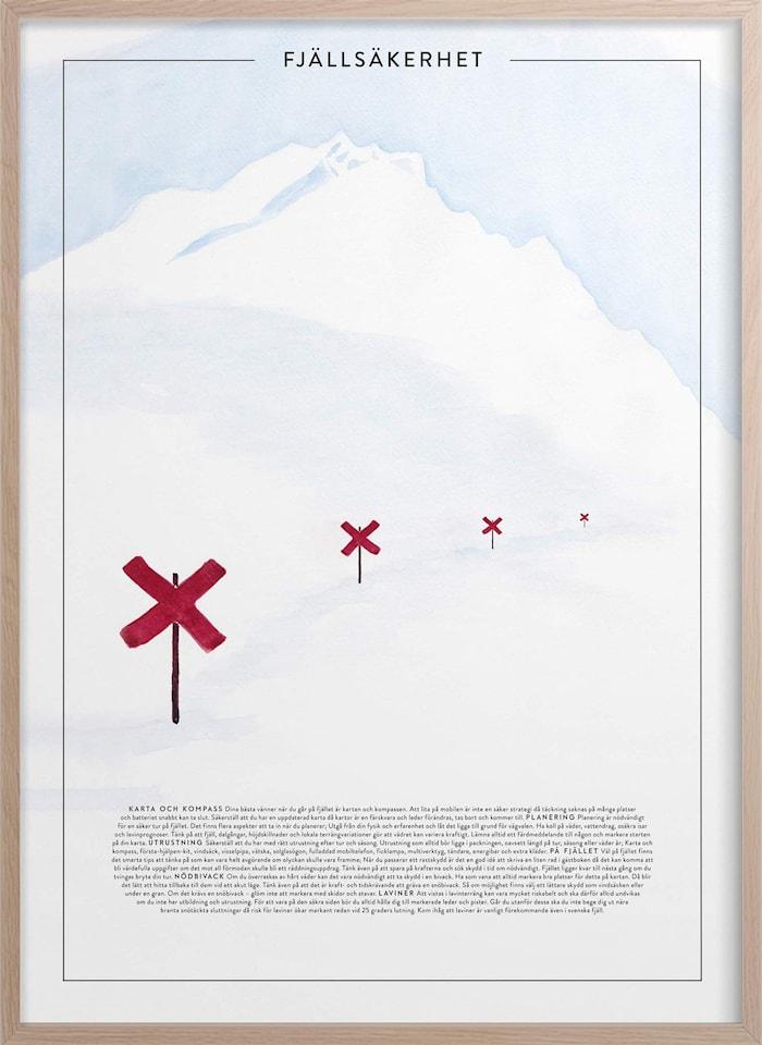 Fjellvett Poster 50x70 cm