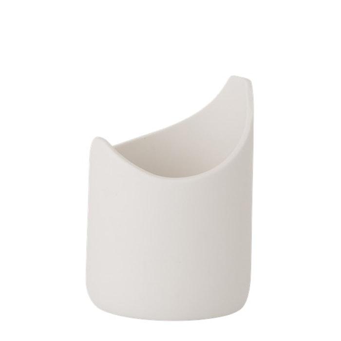 Vase Porselen Hvit 13,5 cm