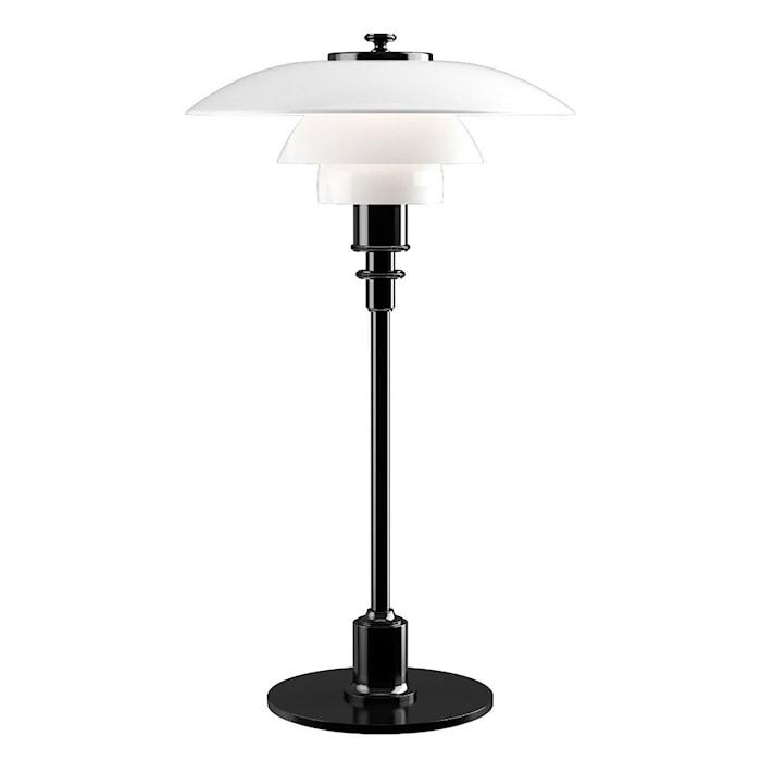 PH 3½-2½ Bordslampa - Svart Metalliserad/Glas