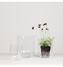 Vas Simple 16 cm Klar