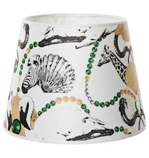 Safari club lampskärm - Småmönstrad