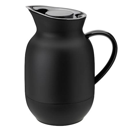 Amphora Vakuum Kaffetermos soft black 1L