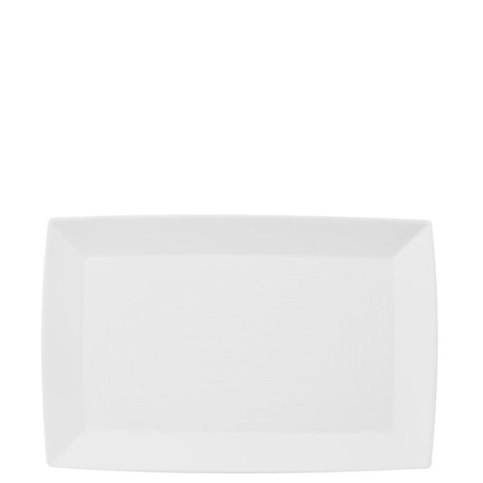 Loft Hvit Fat Rektangulært 28 cm