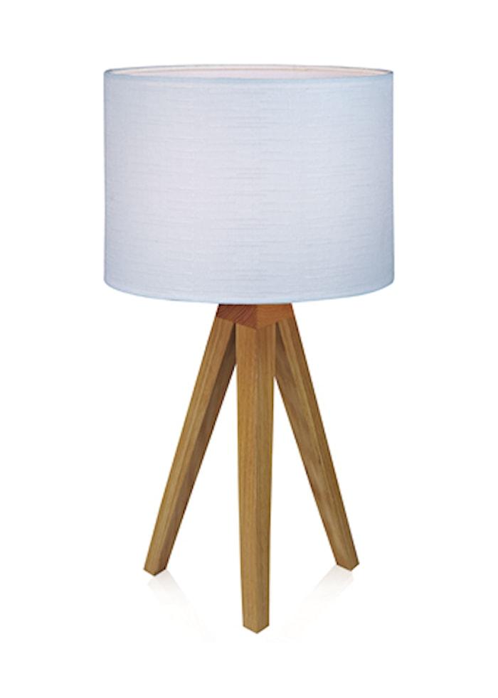 Kullen Bordslampa Ek/Vit 22,5cm