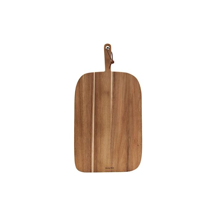 Skærebræt, Brød, Acacia, L: 51 cm