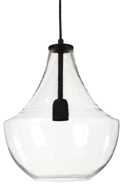 Hamilton Taklampa Klar/Svart 30cm