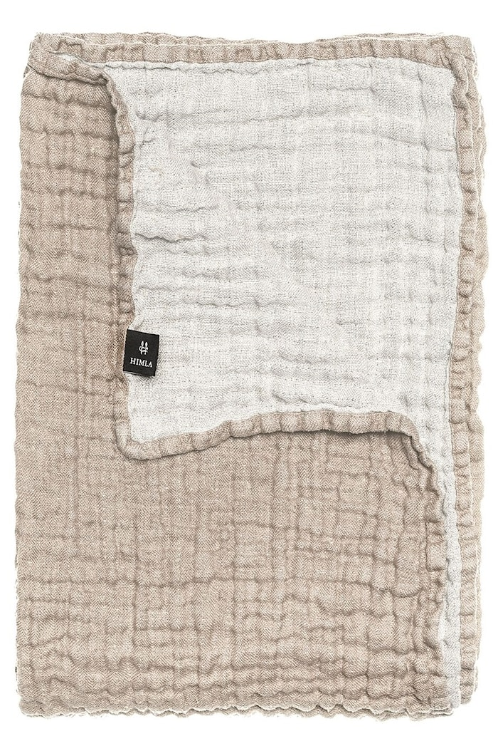Överkast Hannelin natural/white 160x260