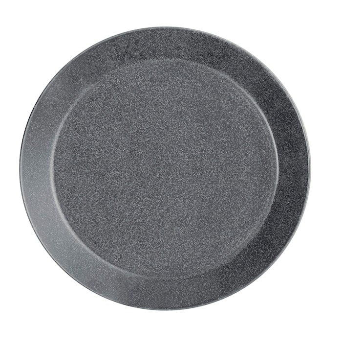 Assiette Teema 21 cm gris chiné