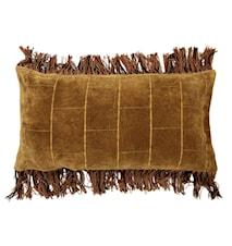 Tyyny Sametti Ruskea 35x70 cm