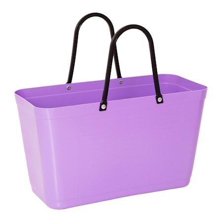 Väska Stor Green Plastic Lila