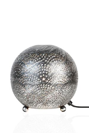 Petra Tischlampe Antik Silber