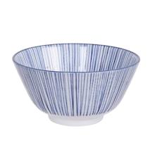 Nippon Blue Rice Bowl Lines 12 cm