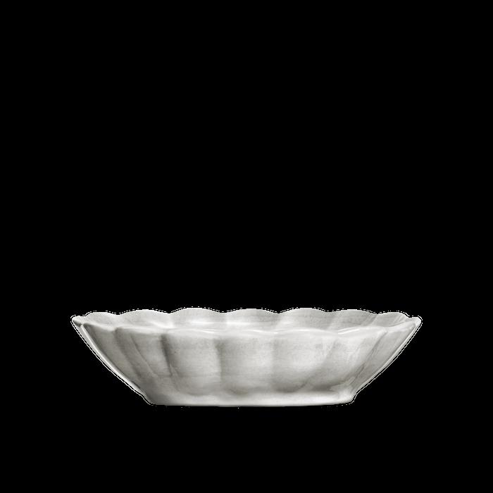 Oyster Skål Grå 23x18 cm