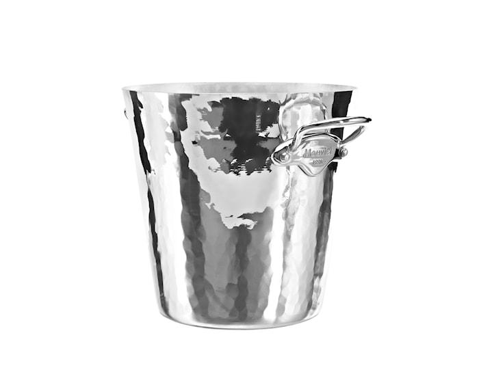 Champagnekylare rund aluminium