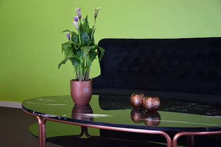 Iris soffbord - med hylla
