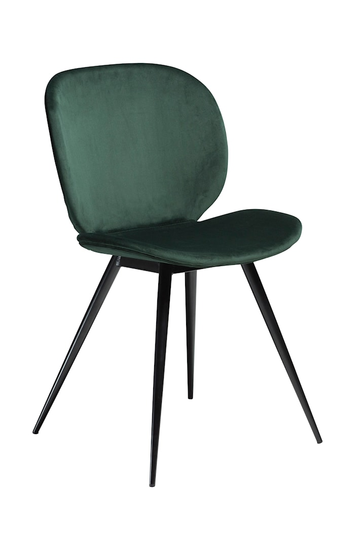 Stol Cloud Velour - Emerald Grön