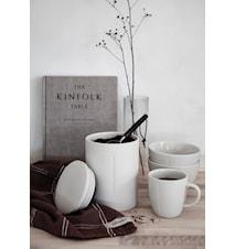 Kaffemått - Svart trä/Metall