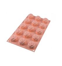 SF074 Small Rose Silikonform 4,4 cm x H 2,7 cm