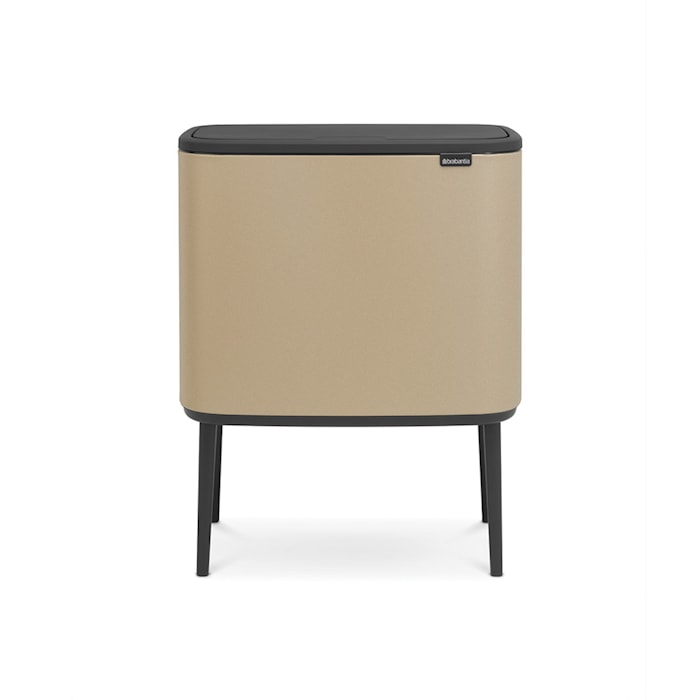 Bo Touch Bin, 36L, Mineral Gold Beach