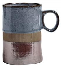 NOSTALGIC Mug Blue/Brown 40cl