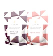 Doftljus Refill Amber Rose/ Dramatic Cologne 2-Pack