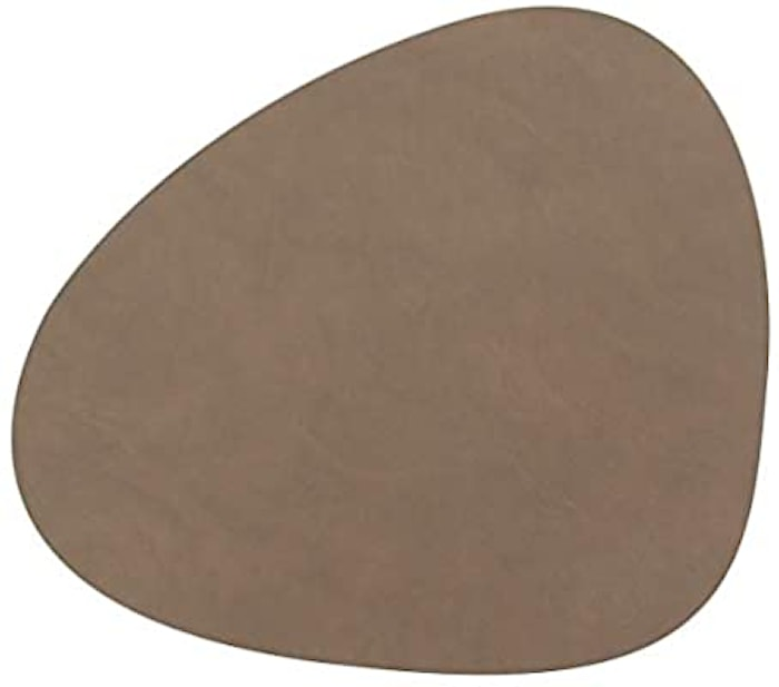 Curve L Bordstablett Nupo Brun 37 x 44 cm