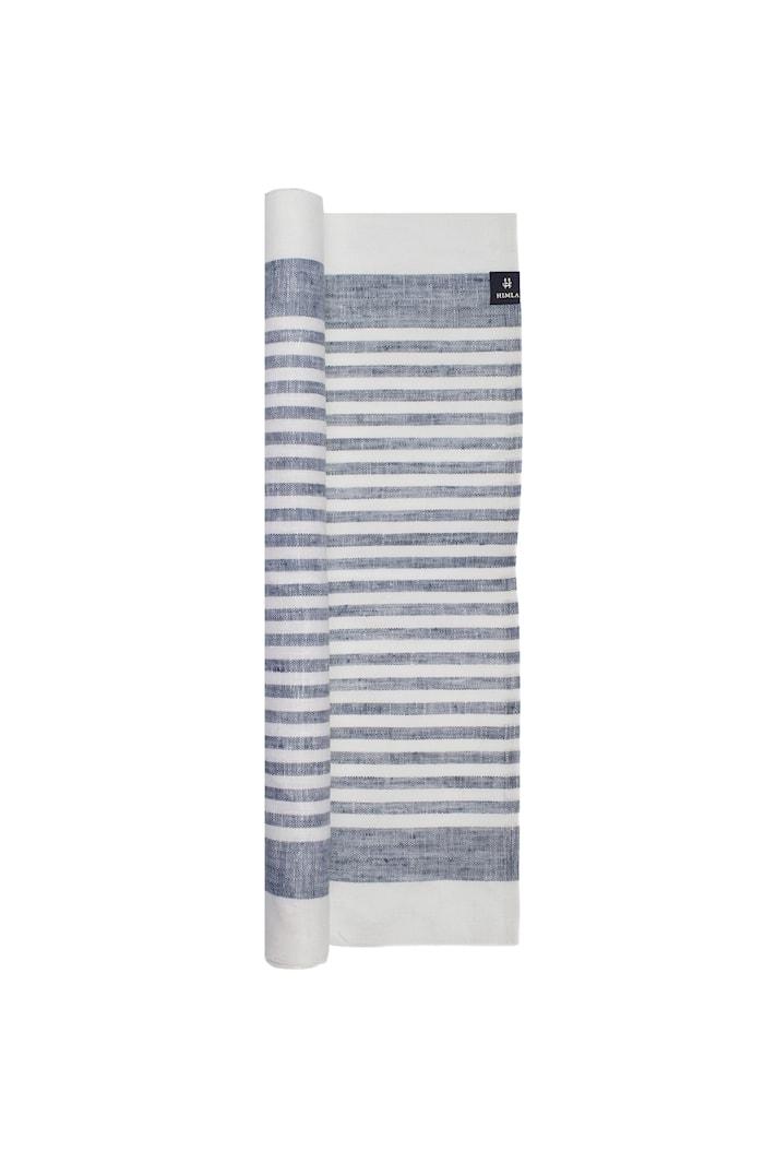 Karin Löpare denim/white 50x150