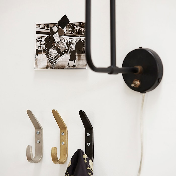 Koukku Forged 12 cm - Musta