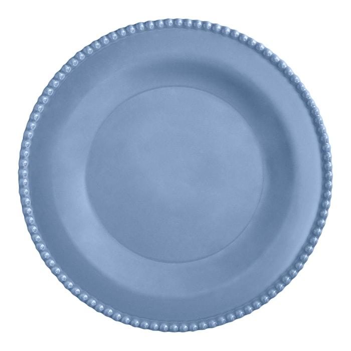 Assiett 24 cm Duvblå