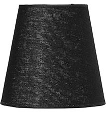 Cia Lampunvarjostin pellava Musta 20 cm