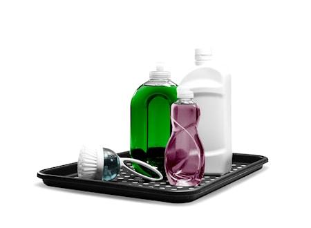 Drypbeskyttelsesbakke til opvask