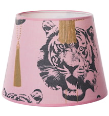 Coco tiger lampskärm pink - Small