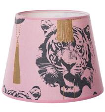 Coco tiger lampskärm Pink