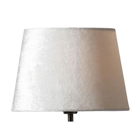 Lola 26 cm lampskärm - Cream