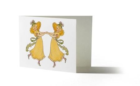 Elsa Beskow Kort med kuvert Maskros