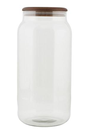 Opbevaringsbeholder Oak 14x28 cm - Klar