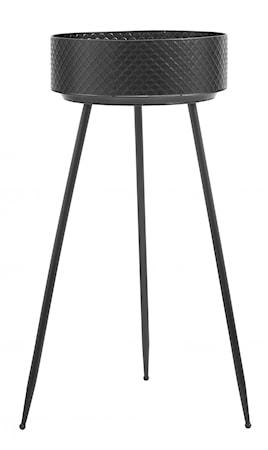 INDIAN Piedestal Kruka Svart Tall