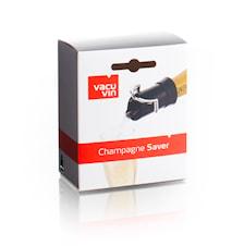 Champagneförslutare/Serveringspip svart