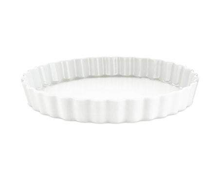 Tærteform nr. 9 hvid, Ø 27,5 cm
