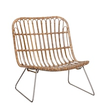 Lounge chair kurvestol